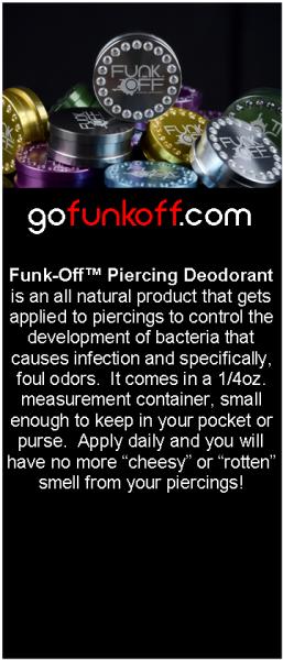 Funk-Off Piercing Deodorant