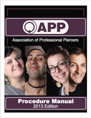 APP Procedure Manual Cover 2013