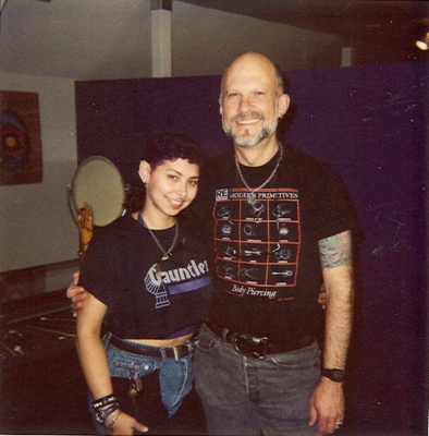 Me with my mentor, Gauntlet's founder, Jim Ward  circa 1990