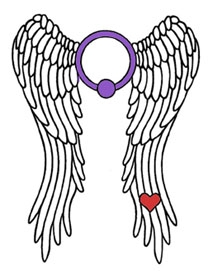 The Rings of Desire wings-with-ring logo